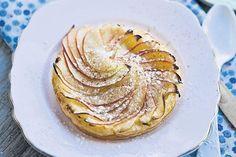 Verfijnde appeltaart