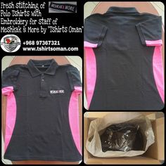 #TshirtsOman Custom made staff uniforms, T-shirts in Muscat with screen printing, heat transfer, Small & large order