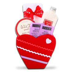 Tea and Chocolates Deluxe Valentines Gift Basket, Spoil and pamper that special someone with the thoughtful felt heart gift! Your loved one will enjoy relaxing with soothing spa products, delicious Ghirardelli Chocolate, and warm Tazo teas! Includes: Tazo Tea packets, Ghirardelli 60% Dark Chocolate Tasting Square, Ghirardelli Chocolate...  http://holiday-unique-gift-ideas.blogspot.com/2013/12/holiday-gift-baskets-best-holiday-gifts.html  #Holiday_Gift_Baskets #Holiday_Gift_Ideas #Holiday…