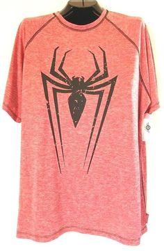 37d84f8552dd Marvel Mad Engine SPIDER-MAN Men s Compression Graphic T-Shirt (XL) NWT   MarvelbyMadEngine  ActiveTees