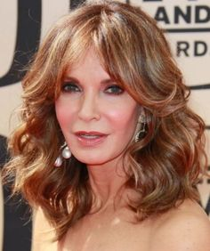 Hairstyles for women 35 Pretty Hairstyles for Women Over Shake Up Your Image & Come Out Looking Fresher Jaclyn Smith Medium Curly Hair Style - Women Over 50 Haircuts Hairstyles Over 50, Modern Hairstyles, Short Hairstyles For Women, Pretty Hairstyles, Layered Hairstyles, Medium Hairstyles, Everyday Hairstyles, Medium Haircuts, Hairstyles Haircuts