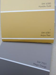 Sherwin Williams color greige   Language of Color and Texture: Mega Greige, Anjou Pear a la LAZY BOY