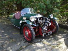 Morgan AYU 335. Sports chassis, 1934