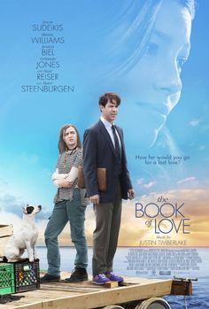 Watch Jason Sudeikis, Maisie Williams & Jessica Biel in The Book of Love trailer   Live for Films