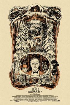Mondo: The Archive | Vania Zouravliov - The Grand Budapest Hotel, 2014
