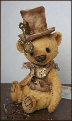 steampunk teddy bears | Collectible Steampunk Teddy Bears By Elena Kamatskaya