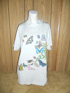 Vtg vintage 80s 90s  top tee t shirt   by ATELIERVINTAGESHOP, $32.00