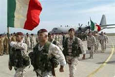 Italy's military is comprising a total of 350,000 men and women with the official status of active military personnel.