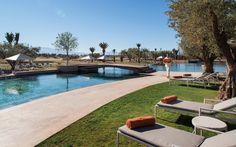 Beachcomber's new Royal Palm Marrakech in Morocco ~ Sure Travel. Royal Palm Marrakech, Marrakech Hotels, Adventure Hotel, Wordpress, Holiday Destinations, Exotic, Outdoor Decor, Travel, Golf
