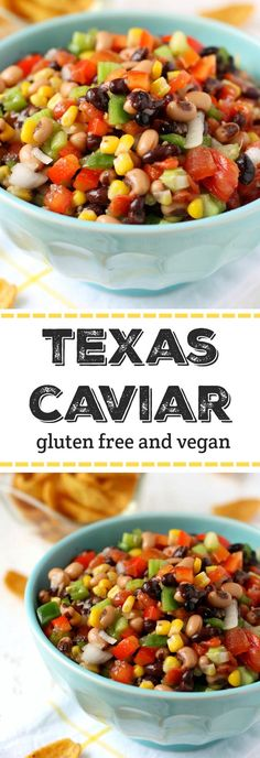 The best and easiest recipe for Texas Caviar. This dip is always a hit at parties! The best and easiest recipe for Texas Caviar. This dip is always a hit at parties! Healthy Recipes, Mexican Food Recipes, Vegetarian Recipes, Cooking Recipes, Mexican Snacks, Mexican Appetizers, Healthy Dips, Mexican Party, Free Recipes
