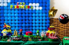 ideas for a super mario pool party - Google Search
