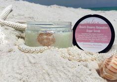 Beach Dreams Relaxation Sugar Scrub by EssentiallyMermaids on Etsy