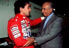 Senna and Fangio