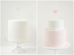 Chic and modern wedding cakes by Hello Naomi topped with beautiful, realistic sugar flowers. Our Wedding Day, Chic Wedding, Wedding Blog, Wedding Ideas, Pretty Cakes, Beautiful Cakes, Hello Naomi, Different Wedding Cakes, Cupcakes