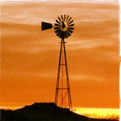 Windmill - something about a red sky and windmills