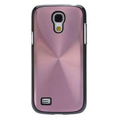 Metallic Back with Black Edge Hard Back Cover Case for Samsung Galaxy S4 Mini I9190 - USD $ 3.99