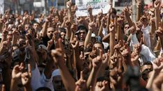 Hundreds of Palestinians protest anti-Islam film in Ramallah
