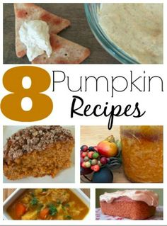 Pumpkin Recipe Round-Up from Having Fun Saving and Cooking.