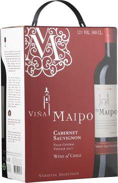 Viña Maipo Cabernet Sauvignon hanapakkaus - Tuotteet - Alko Cabernet Sauvignon, Tote Bag, Totes, Tote Bags