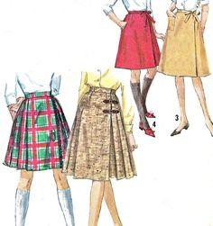 1960s Skirt Pattern Simplicity 5172 Junior Teen by paneenjerez, $10.00