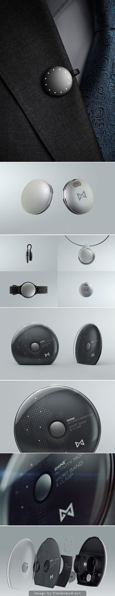 Misfit Shine, wearable Activity Monitor | #packaging #tecnology #design | Ultralinx