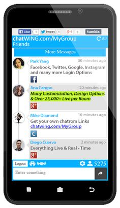 Good chat room apps for android