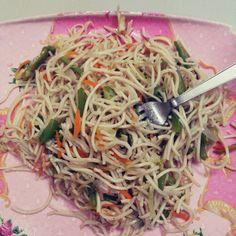 Fresh Noodles. #Yummy #noodlefood #chinese #cookofart #masterchiefamma