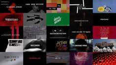 Condensador de Fluzo » Los mejores títulos de crédito de Saul Bass en un solo vídeo