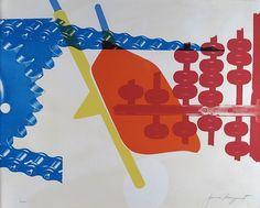 Whipped butter for Eugen Ruchin by James Rosenquist - 1965 - Limited Edition Print - Screen-print James Rosenquist at great prices - Buy and sell your artworks on kunzt. James Rosenquist, Pop Art Artists, Claes Oldenburg, Jasper Johns, Bright Art, Roy Lichtenstein, True Art, Andy Warhol, All Art
