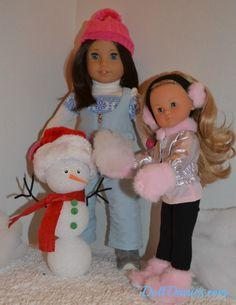 doll sized snowman