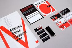 99U Conference :: Branding Collateral 2013 by Raewyn Brandon, via Behance