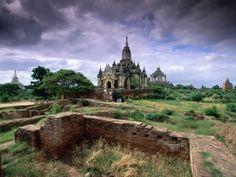 """The city of Bagan (previously spelled """"Pagan"""") in Myanmar (previously called Burma) is an ancient city that is home to over 2,000 temples and pagodas. Many ancient kingdoms have claimed Bagan as their capital city throughout its history."""
