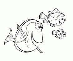 Dory From Finding Nemo Coloring Pages Coloring Pages