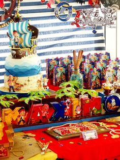 Jake and Neverland Pirates Birthday Party Ideas   Photo 2 of 14   Catch My Party