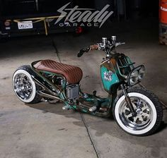 Steady Garage built Honda Ruckus