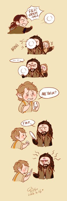 Thorin and Bilbo in the bag end... by innocence777 on DeviantArt