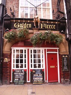 Haunted Pub in the Shambles in York, England! So have to go here the next time I'm there!