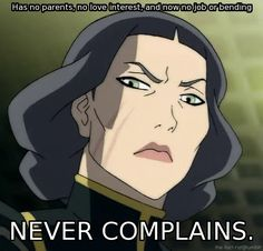 The Legend of Korra: Lin don't give a shit!