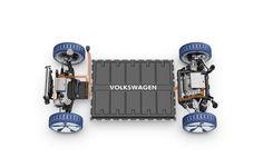 Výsledek obrázku pro electric platform VW