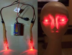 https://blog.adafruit.com/2014/03/18/make-your-eyes-glow-with-leds/  I have yet to see a Demon Hunter cosplay which involved glowing eyes- I would like to be the exception to this. :P