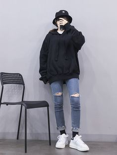 Learn About These Top korean fashion outfits 0464 Sourc. - Learn About These Top korean fashion outfits 0464 Source by coreanos Source by - Grunge Outfits, Boyish Outfits, Kpop Outfits, Korean Outfits, Casual Outfits, Korean Fashion Trends, Korean Street Fashion, Korea Fashion, Asian Fashion