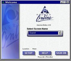 "America Online ""AOL"" (1991). The discs that would come in with ""100 Free Hours,"" were one thing, but the automated ""You've Got Mail"" became an icon of the 90's."