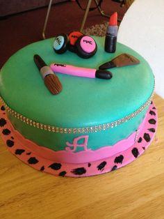 Diva MAC make-up birthday cake