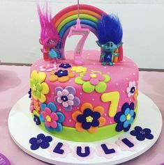 Rainbow Cake Beautiful & Lovely. ❤
