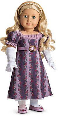 American Girl - American Girl Caroline's Holiday Gown