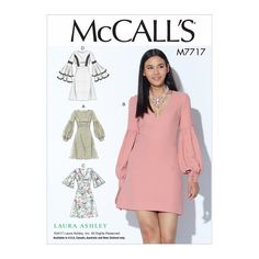 McCall's 7717 Misses' Dresses sewing pattern