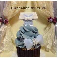 Cinderella's Dress Cupcakes By YuYu #Cinderella