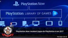 É uma atualização considerável a plataforma, que ainda não está disponível no Brasil.  #Sony #PlayStationNow #PlayStation4 #PS4 #PSNow #VaoJogar #VideoGames #Games #InstaGames