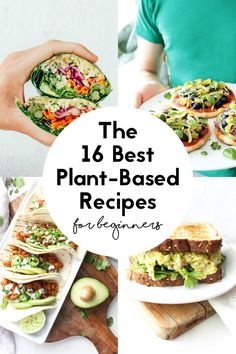 Find out how to make quick & easy vegan recipes for beginners with these great blueprints! From sandwiches to bowls, salads and lots of meal prepping ideas, these vegan staple foods make for budget-friendly, healthy and tasty plant-based meals for beginners or busy people. Family-friendly and kid-approved. | nutriciously.com #Vegan #VeganBeginner #HealthyEating #QuickRecipes #EasyRecipes #Blueprint #MealPrep #PlantBased