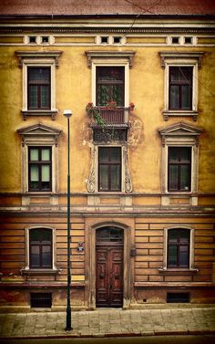 Ancient Building, Lodz, Poland